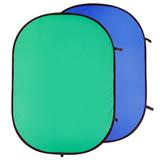 Cyclo vert/bleu