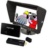 Système de retour vidéo HF